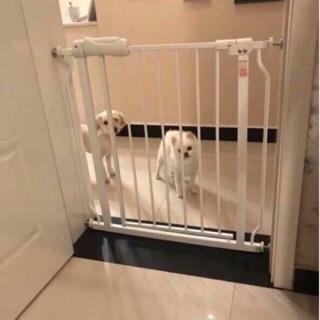 Thanh chắn cửa-Thanh chắn cầu thang mẫu cao cấp, không cần khoan tường Umo (74cm-85cm)