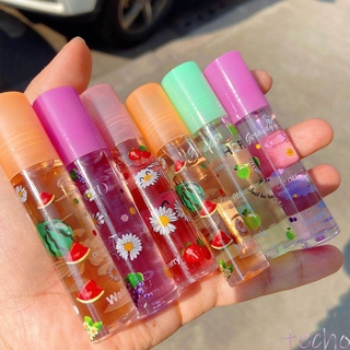 HENGFANG Mirror Water Gloss Lip Glaze Transparent Glass Lip Gloss Lip Oil Lipstick (6 Colors Are Shipped Randomly)Sweet and cute lip glaze glitter lip glaze techo
