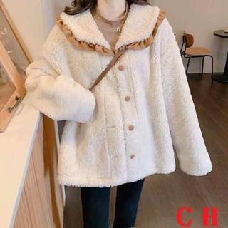 [Hàng chuẩn đẹp siêu sale] Áo khoác lông kiểu dáng tiểu thư cổ đẹp mê quá điii thumbnail
