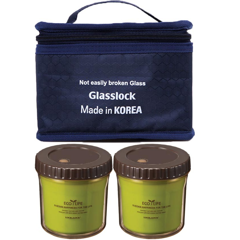 Bộ 2 hộp nhựa giữ nhiệt Ecolife Lock&lock và túi giữ nhiệt Glasslock - 2417100 , 839837806 , 322_839837806 , 245000 , Bo-2-hop-nhua-giu-nhiet-Ecolife-Locklock-va-tui-giu-nhiet-Glasslock-322_839837806 , shopee.vn , Bộ 2 hộp nhựa giữ nhiệt Ecolife Lock&lock và túi giữ nhiệt Glasslock