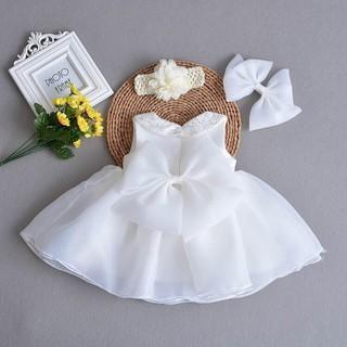 Đầm công chúa voan cho bé từ 1 – 12 tuổi