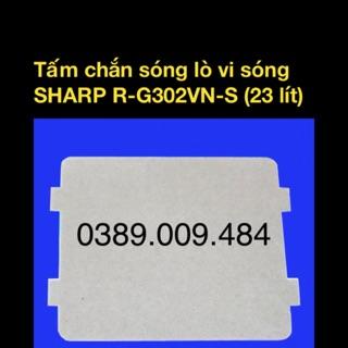 [Mã ELFLASH5 giảm 20K đơn 50K] Tấm amiang chắn sóng lò vi sóng Sharp R-G302VN-S