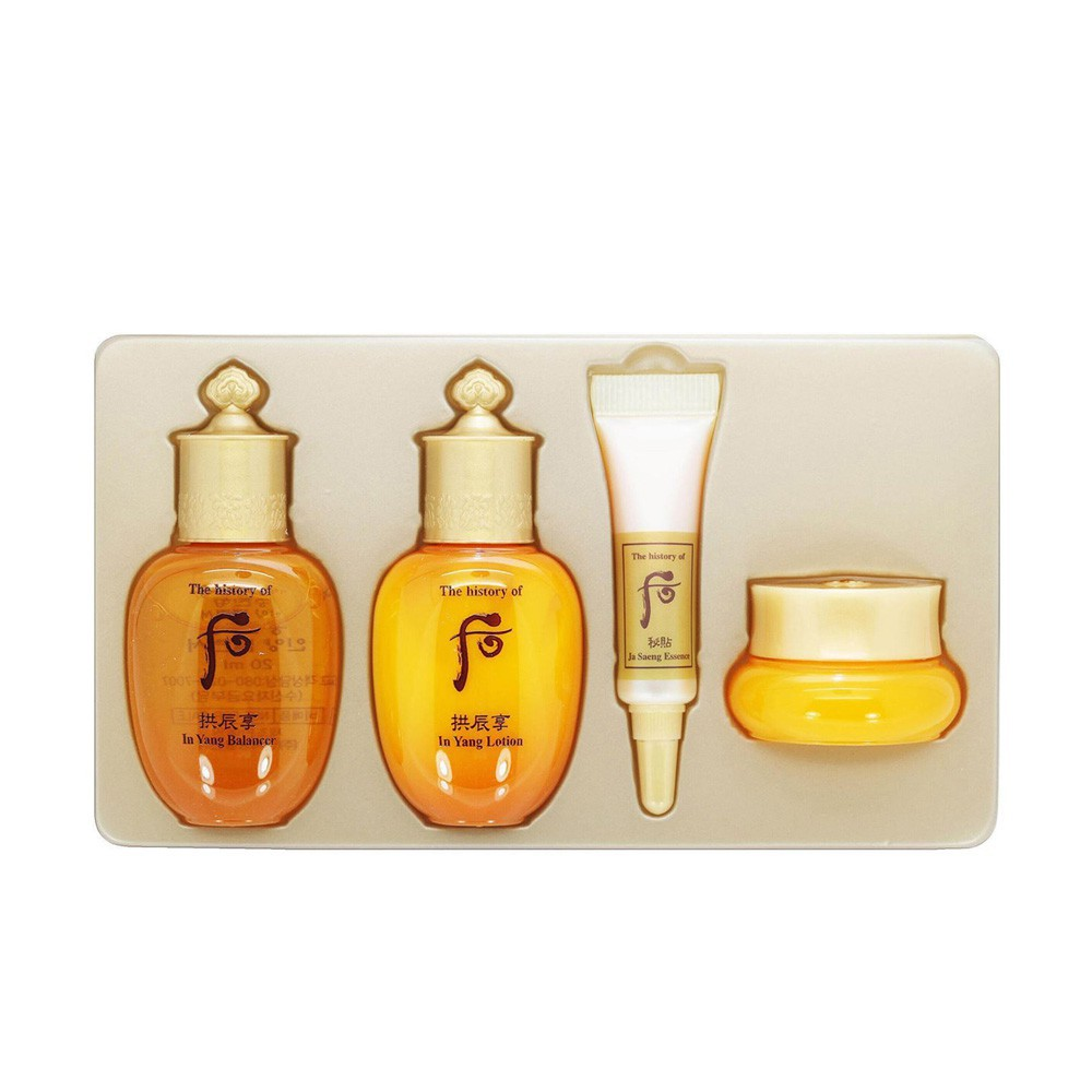 Set Whoo mini vàng 4 sản phẩm
