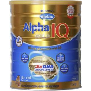 Sữa Dielac Alpha gold IQ số 4 1500g thumbnail