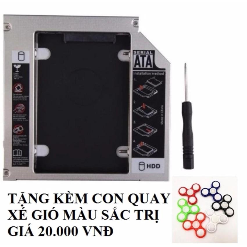 Caddy Bay SATA 3.0 9.5mm gắn thêm ổ cứng cho Laptop Tặng kèm con quay 3 cánh - 2590091 , 953897882 , 322_953897882 , 65000 , Caddy-Bay-SATA-3.0-9.5mm-gan-them-o-cung-cho-Laptop-Tang-kem-con-quay-3-canh-322_953897882 , shopee.vn , Caddy Bay SATA 3.0 9.5mm gắn thêm ổ cứng cho Laptop Tặng kèm con quay 3 cánh