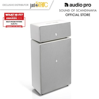 Loa Audio Pro DrumFire MultiRoom Speaker White