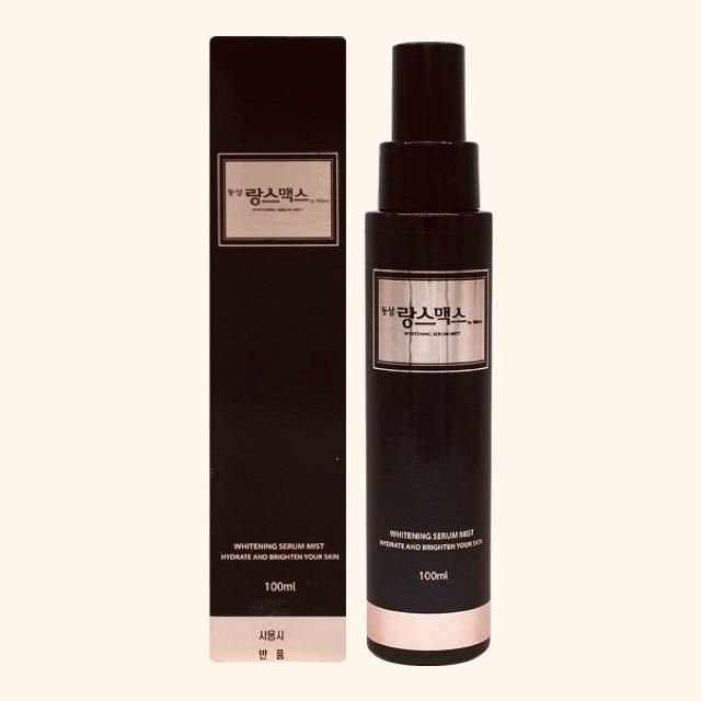 Bộ trắng da  làm mờ nám Dong Sung Rannce Max Prestige Whitening Cream & Serum Mist