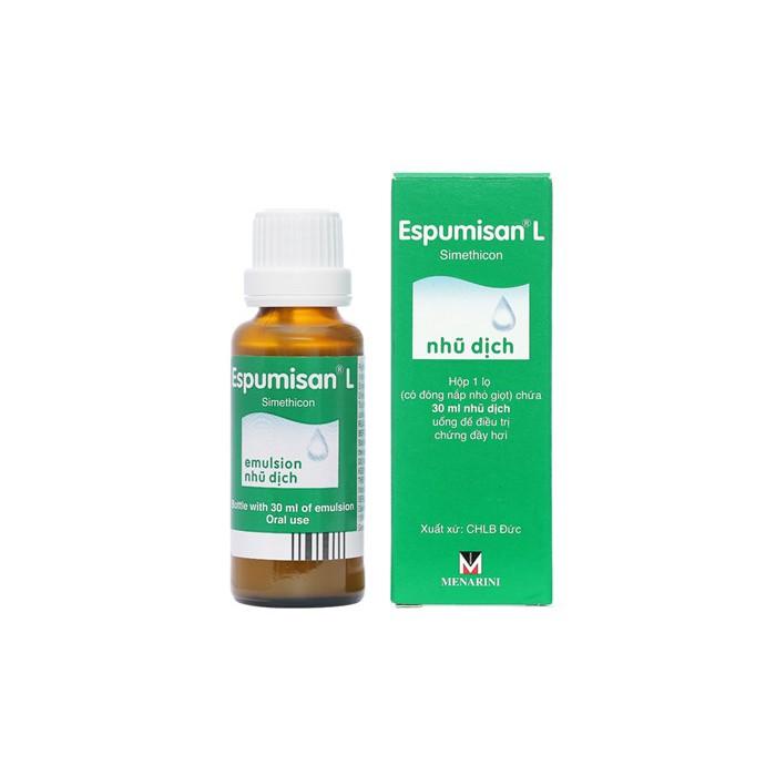 Simethicone Espumisan – Dành cho bé trào ngược