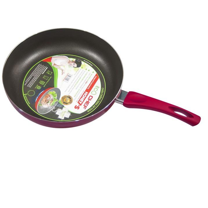 Chảo chống dính an toàn Eco Chef size 28 cm - ECO-AF1N281