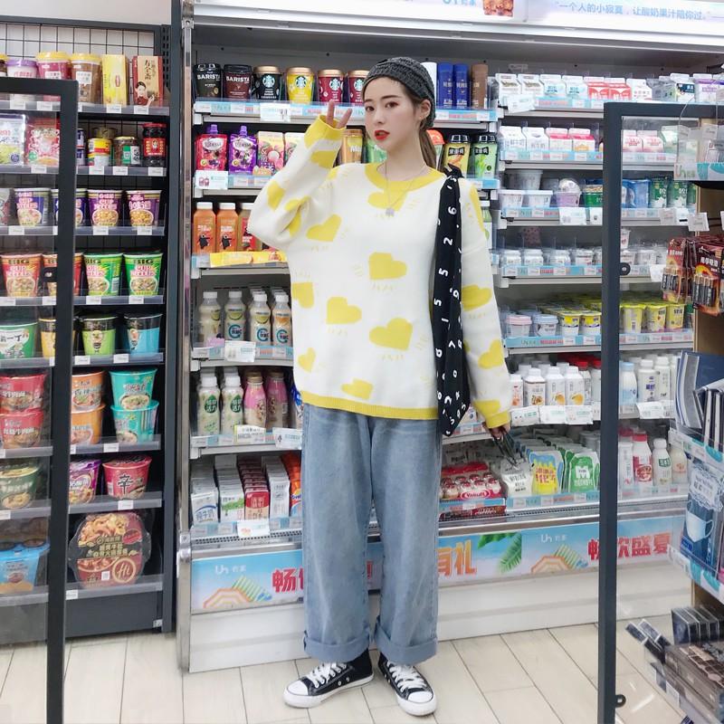 Áo sweater kiểu dáng đơn giản cá tính dễ thương thời trang - 22244386 , 4402960465 , 322_4402960465 , 189100 , Ao-sweater-kieu-dang-don-gian-ca-tinh-de-thuong-thoi-trang-322_4402960465 , shopee.vn , Áo sweater kiểu dáng đơn giản cá tính dễ thương thời trang