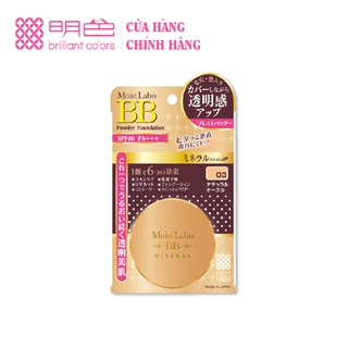 Phấn nén Moist-labo bb mineral pressed powder (natural ocre) (ms 03) Meishoku 9g