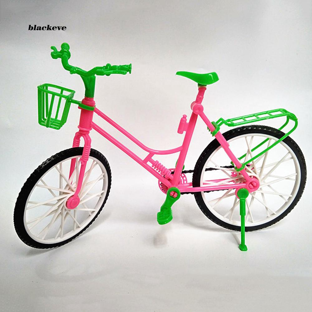 AZX_Girl Toy Doll Accessories Plastic Bicycle Bike Kids Play House Gifts Decors