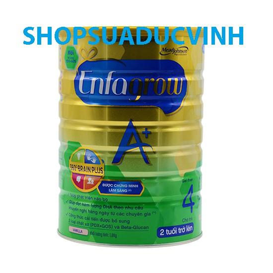 Sữa bột Enfa Enfagrow A 4 360 BrainPlus PDX GOS 1800g(Trên 2tuổi) - 2491081 , 38386561 , 322_38386561 , 779000 , Sua-bot-Enfa-Enfagrow-A-4-360-BrainPlus-PDX-GOS-1800gTren-2tuoi-322_38386561 , shopee.vn , Sữa bột Enfa Enfagrow A 4 360 BrainPlus PDX GOS 1800g(Trên 2tuổi)