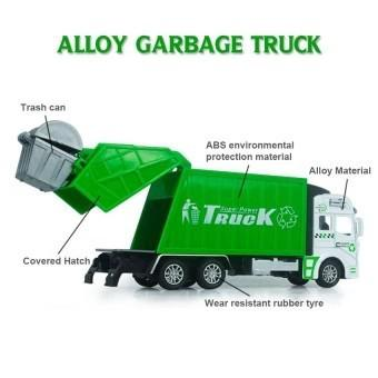 TTTBest Quality Garbage truck Car Model Alloy Toy Children Gift