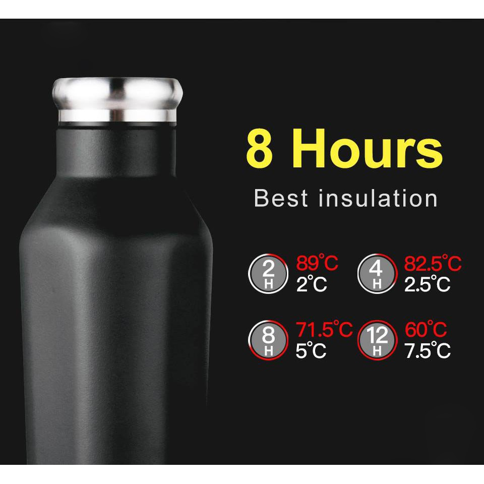Bình giữ nhiệt JOYROOM CY216 vỏ nhôm ruột inbox tiệt khử trùng uống nước cho văn phòng du lịch cỡ lớn mini cầm xách tay