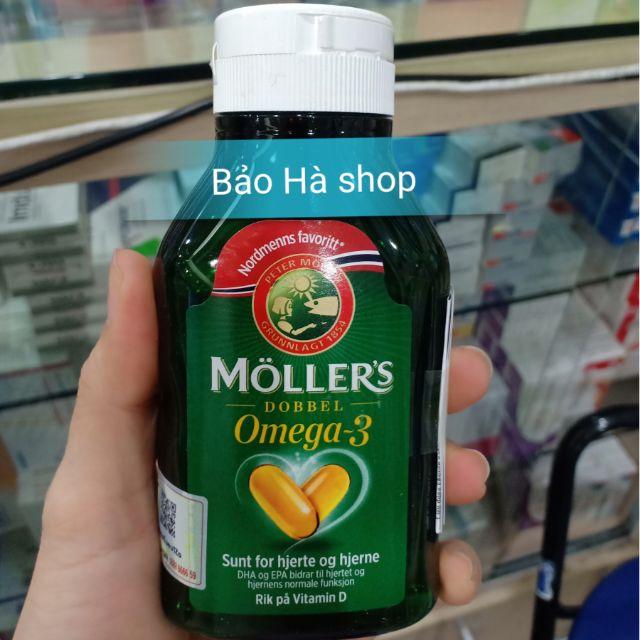 Viên uống MOLLERS Omega 3 từ gan cá tuyết NaUy