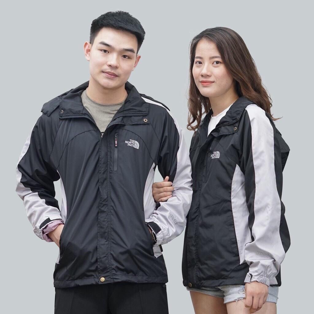 Áo khoác dù nam nữ thể thao cao cấp khóa kéo chống nước chống gió giữ ấm thu đông