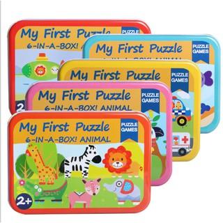 (Hot) Đồ chơi ghép hình My first puzzle – 1 hộp 6 hình