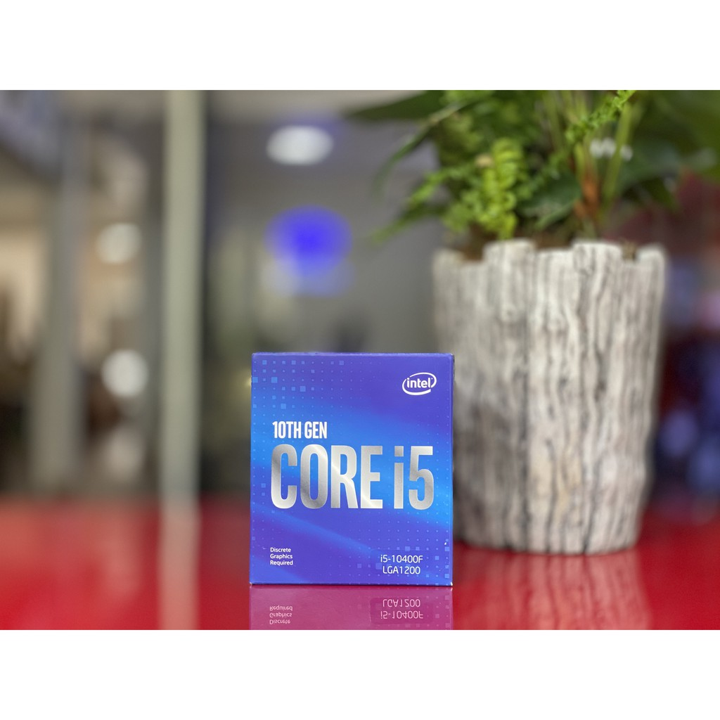 Intel Core i5 10400F 2.9GHz upto 4.3GHz 6 nhân 12 luồng, 12MB Cache, 65W – Full box nhập khẩu