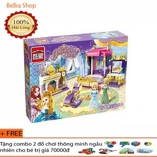 Lego xếp hình bộ lego Enlighten 2601/ Xếp hình Lego phòng ngủ công chúa – 250 chi tiết