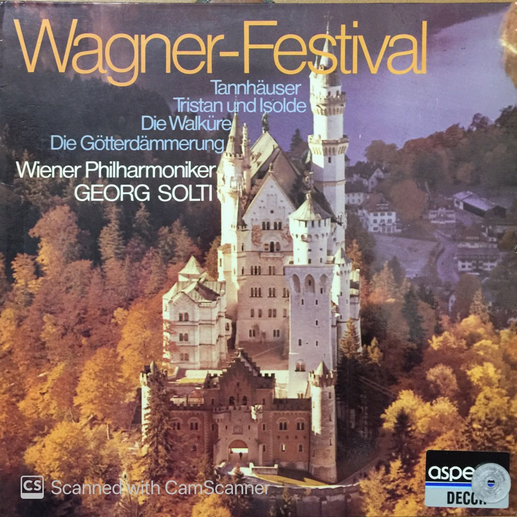 LP Vinyl: Wagner Festival