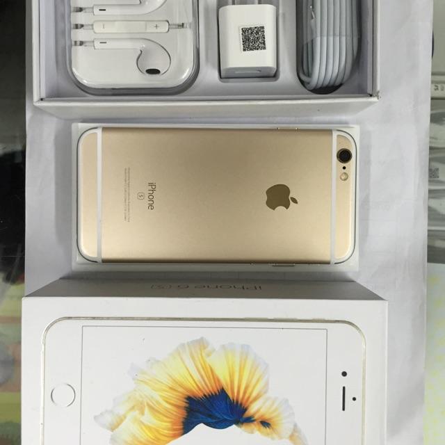 Điện thoại iphone 6s 64g bản lock nhật (nguyên hộp – mới 99% – đủ màu)