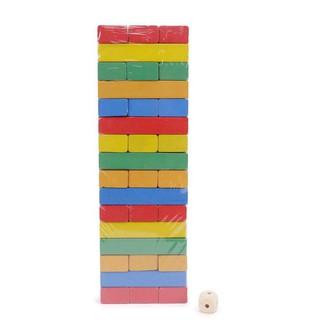 [Có hướng dẫn] Rút gỗ màu 54pcs Vivitoys