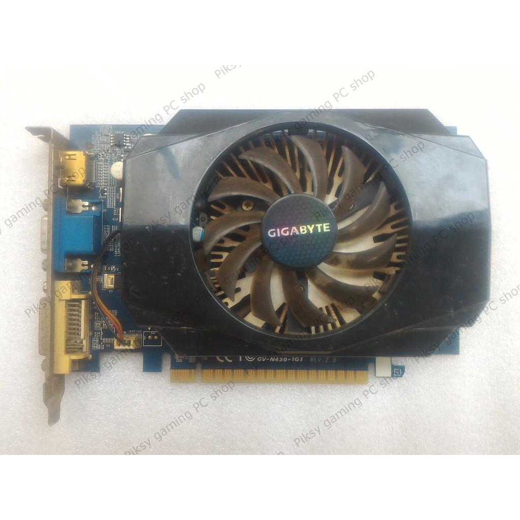 Card màn hình Gigabyte GeForce GT 430 1GB DDR3 (GV-N430-1GI)
