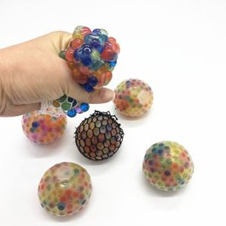 Trò chơi bóng lưới bóp đổi màu (Bóng toy Novetly Bóp) cho bé và người lớn xả stress