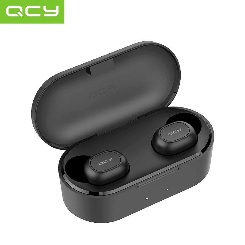 [COD Ready Stocks]QCY T1S TWS Bluetooth 5.0 3D Stereo Sport Music Earphone With Dual Microphone