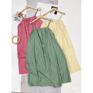 Váy maxi 2 dây xinh xắn