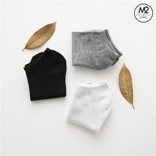 Vớ Tất Nam Nữ Nhật Cotton 100% Ba Màu Cơ Bản Cực Mỏng Hiruma - TCN02