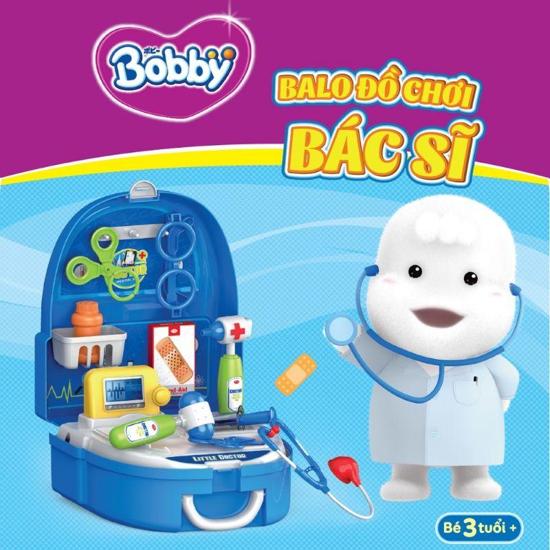 Balo đồ chơi bác sĩ bobby