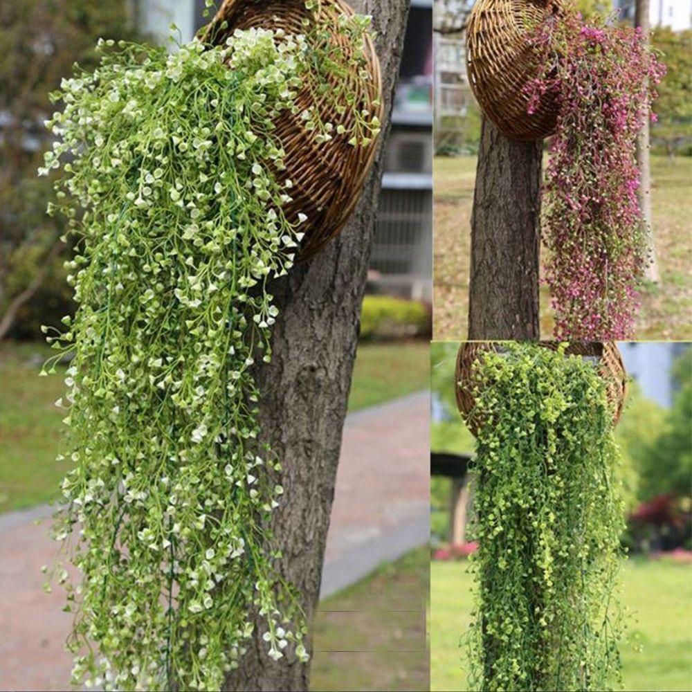 Chùm hoa nhựa dạng leo trang trí nhà cửa/tiệc cưới
