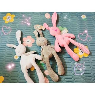 [ Sẵn SLL] Thỏ Bông Hàng Xuất Xịn, Đủ 3 màu Cute Cho Bé Và Bạn Gái