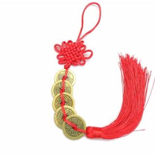 Dây đồng xu ngũ đế - vật phẩm phong thủy trang trí tết mang tài lộc may mắn cho năm mới