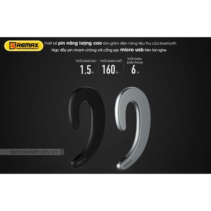 Tai nghe Bluetooth Remax RB - T20 - Siêu Dẹt, Siêu Gọn, Thời Trang Và Pin Trâu