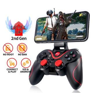 Trò chơi Android T3X3 Gamepad không dây Bluetooth BT3.0 hỗ trợ máy tính và gamepad di động-NUYXSB thumbnail