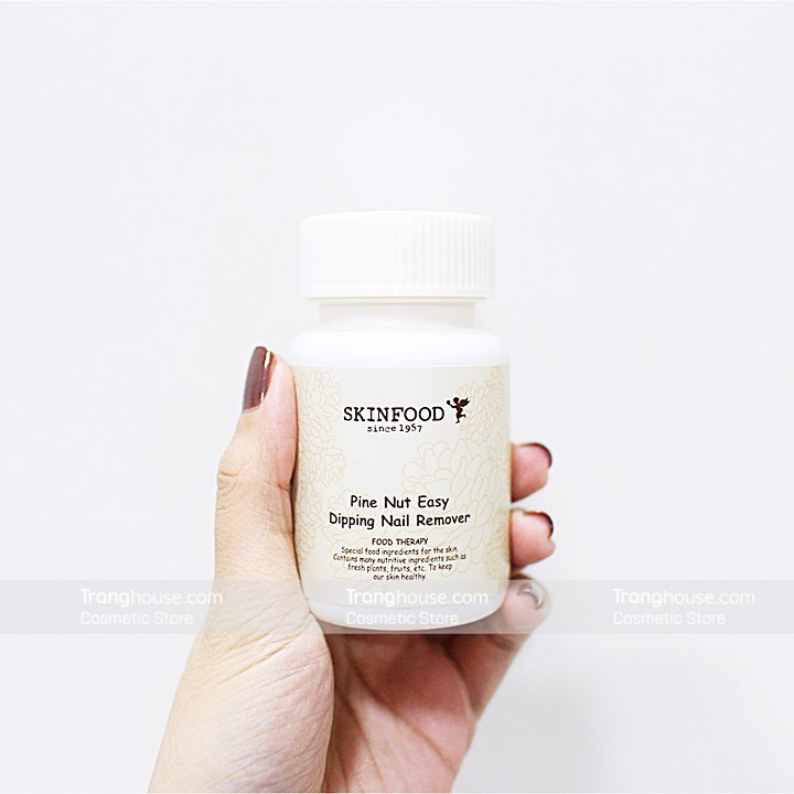 Tẩy Sơn Móng Tay Skinfood Pine Nut Easy Dipping Nail Remover - 2401996 , 69810961 , 322_69810961 , 135000 , Tay-Son-Mong-Tay-Skinfood-Pine-Nut-Easy-Dipping-Nail-Remover-322_69810961 , shopee.vn , Tẩy Sơn Móng Tay Skinfood Pine Nut Easy Dipping Nail Remover