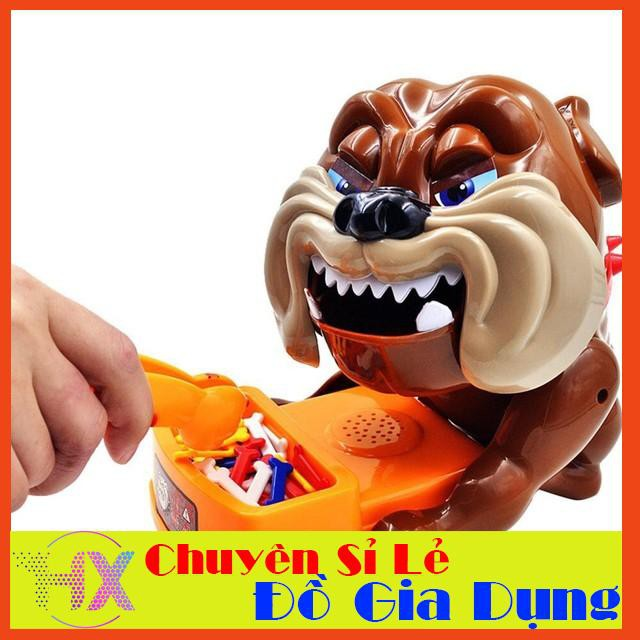 [SIÊU RẺ] Trò chơi Chó giữ xương – Trộm xương chó Loại lớn: Dùng pin, có nhạc (loại gắp xương) – CHẤT LƯỢNG CAO