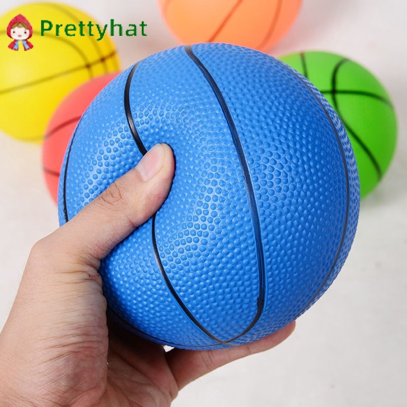 New high quality children's outdoor toys basketball red yellow blue green purple 4 inch 6 inch children's outdoor toy ball 『Prettyhat 』