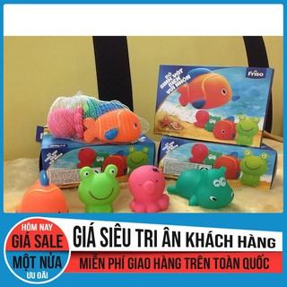 Bộ sinh vật biển vui nhộn 4 con (quà tặng từ Friso)