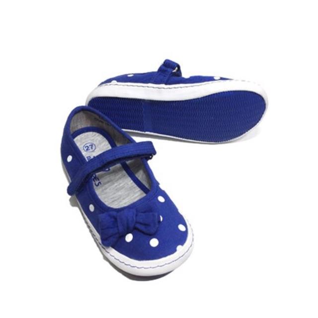 Giày búp bê bé gái chấm bi chuẩn xuất khẩu Châu Âu
