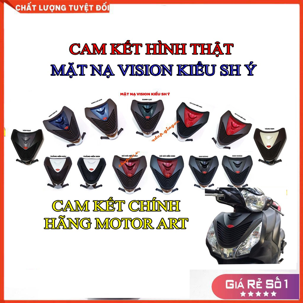 MẶT NẠ XE VISION 2016-2020