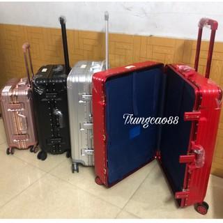 Vali khóa sập đủ size 20,24,26,29 hàng chuẩn loại 1,tặng túi bọc vali, nhập mã TRUNG5 giảm 20k