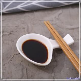 Chất lượng cao◆Set 10 giá gác đũa bằng sứ màu trắng phong cách Nhật Bản