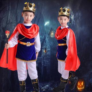trang phục hoá trang hoàng tử cho bé trai