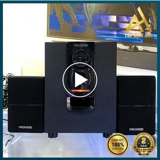 Loa Máy Vi Tính Có Bluetooth Loa Để Bàn Cao Cấp 2.1 MICROLAB M106BT - Loa Bass Nghe Nhạc PC Laptop Có Dây thumbnail