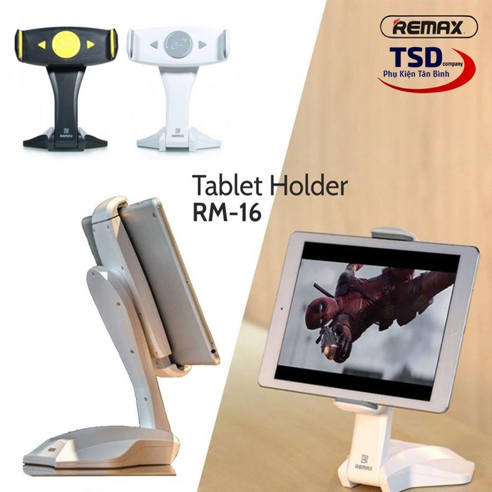 Giá Đỡ iPad, Máy Tính Bảng Remax RM-C16 Xoay 360 Độ