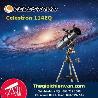 Kính thiên văn phản xạ Celestron AstroMaster 114f1000EQ